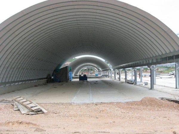 Tunnel agricoli genova la spezia realizzazione ricovero for Capannoni in legno prezzi